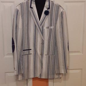 Other - Mens Blue and white blazer